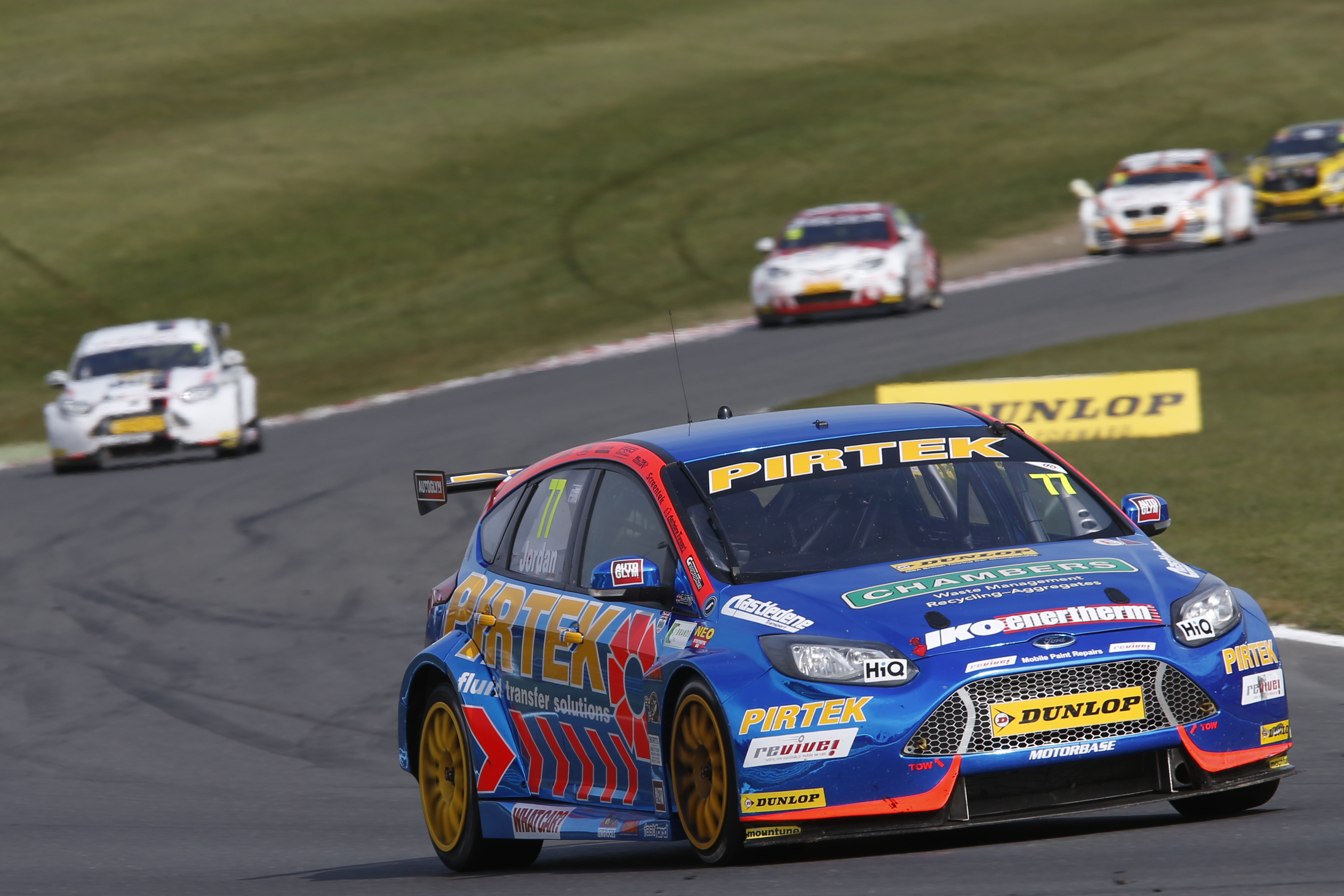 Andrew Jordan at Brands Hatch 2016