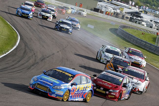 Andrew Jordan at Thruxton