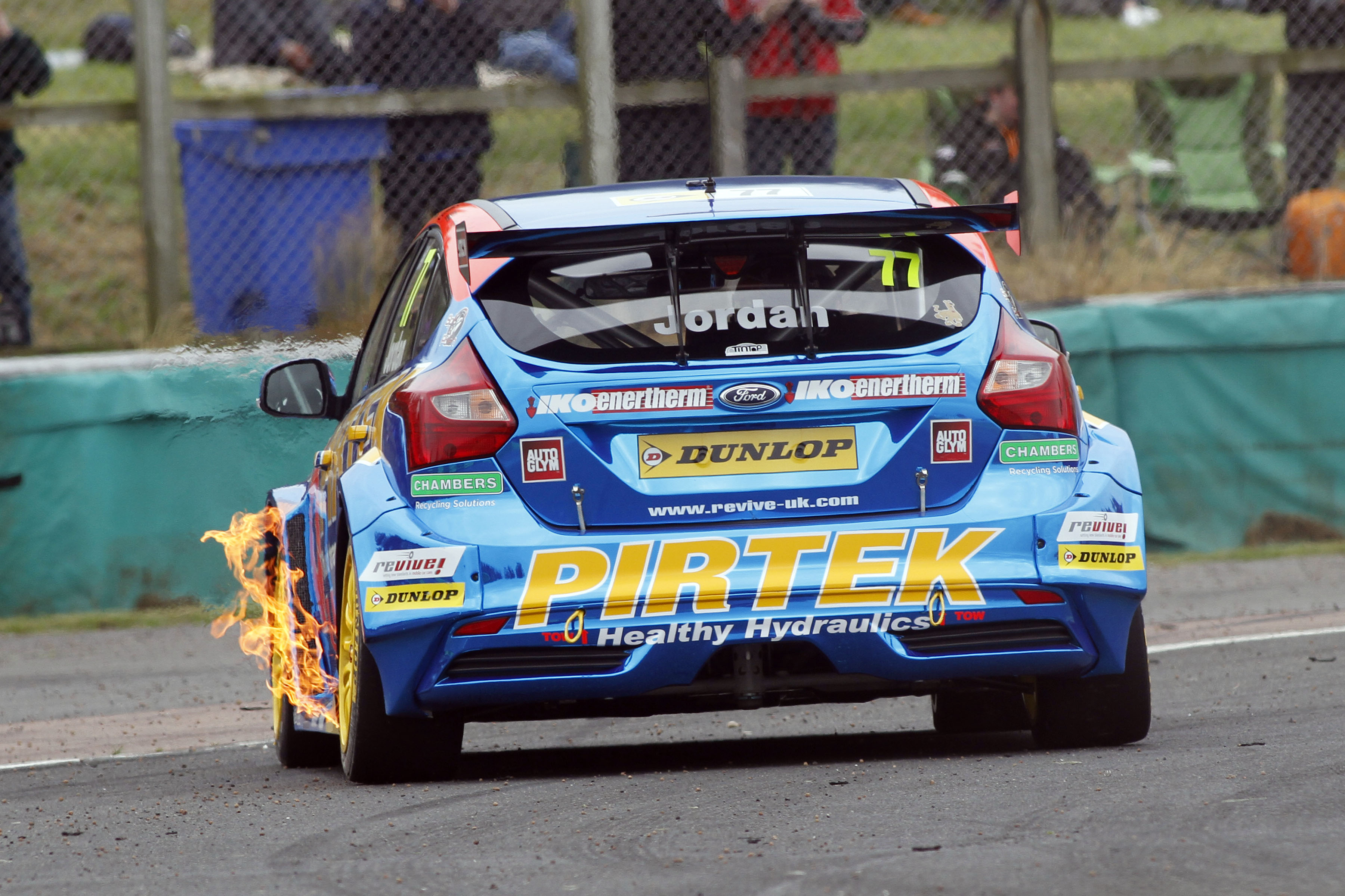 Andrew Jordan BTCC at Croft