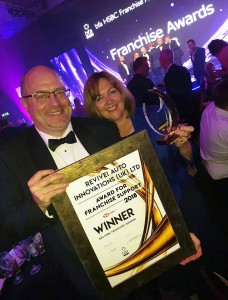 Mark Terry HSBC Franchise Awards