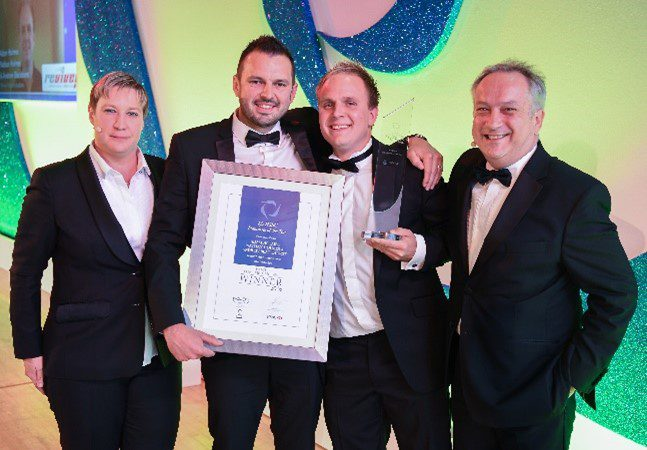 Revive! East Anglia winning the Franchisee of the Year award in 2016