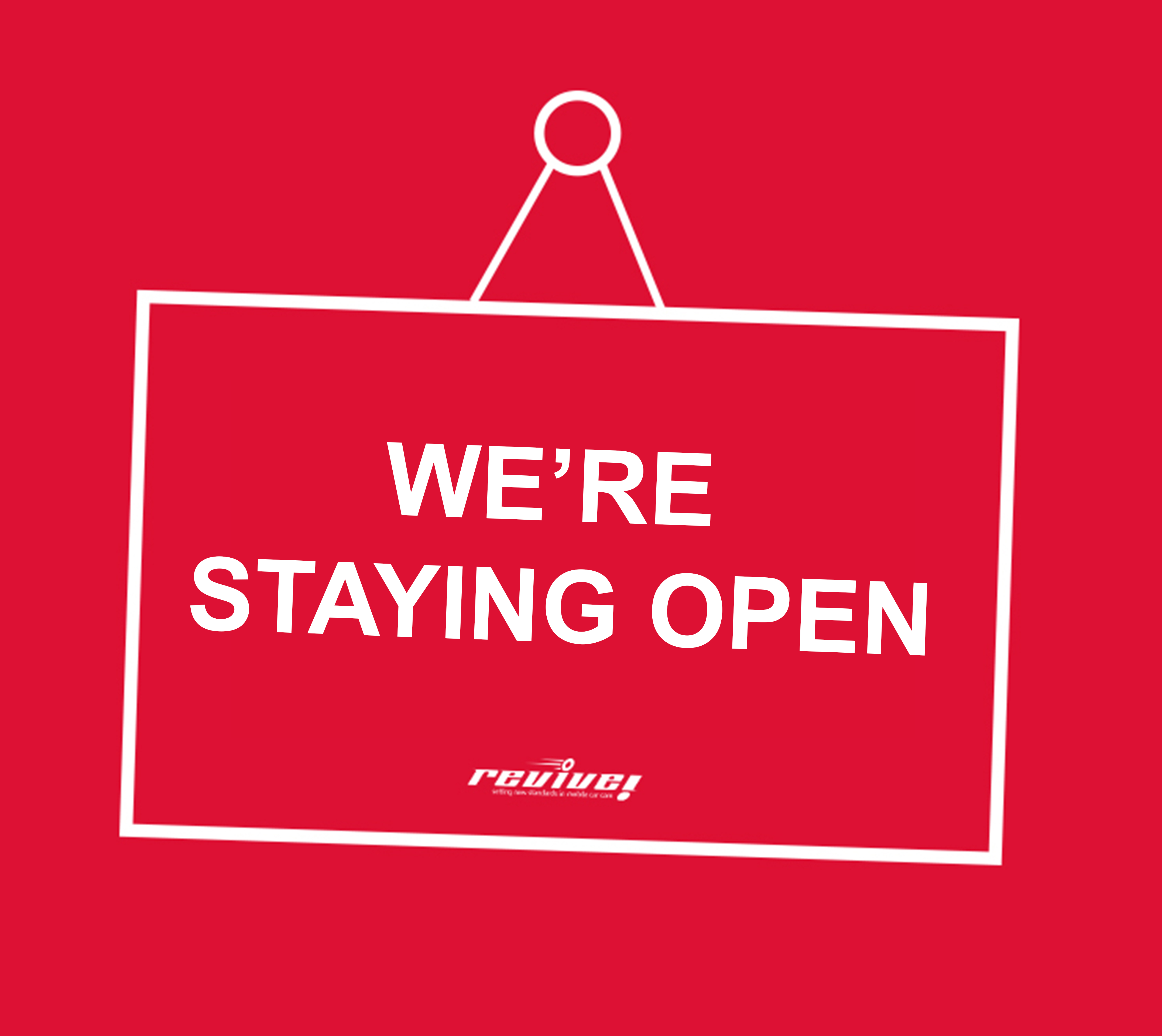 staying open